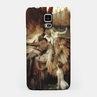 Miniaturka The Lament for Icarus by Herbert James Draper Samsung Case, Live Heroes