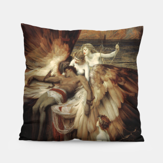 Miniaturka The Lament for Icarus by Herbert James Draper Pillow, Live Heroes