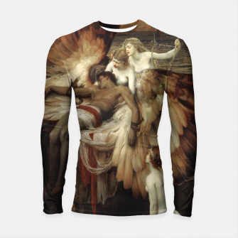 Miniaturka The Lament for Icarus by Herbert James Draper Longsleeve rashguard , Live Heroes