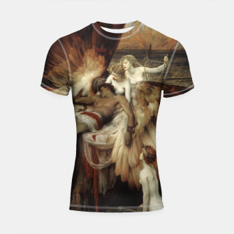 Miniaturka The Lament for Icarus by Herbert James Draper Shortsleeve rashguard, Live Heroes