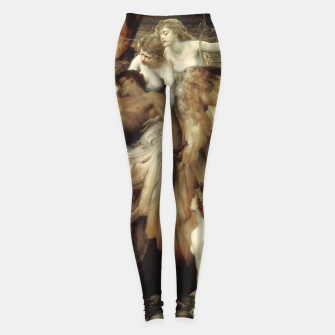 Miniaturka The Lament for Icarus by Herbert James Draper Leggings, Live Heroes