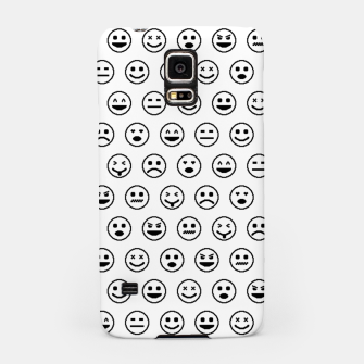 Thumbnail image of Smileys b/w Handyhülle für Samsung, Live Heroes
