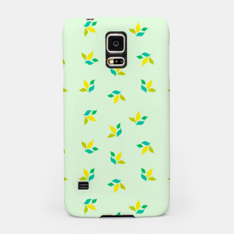 Thumbnail image of simple floral leaves seamless pattern 01 Samsung Case, Live Heroes