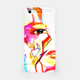 Thumbnail image of rainbow face oil reworked iPhone Case, Live Heroes