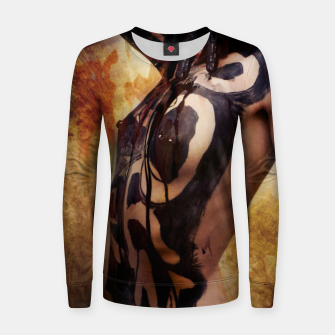 Thumbnail image of Sludge P.O.R.N Women sweater, Live Heroes