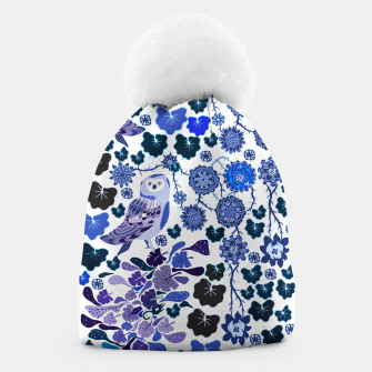Thumbnail image of Blue owl world Beanie, Live Heroes