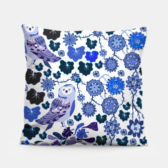 Miniaturka Blue owl world Pillow, Live Heroes