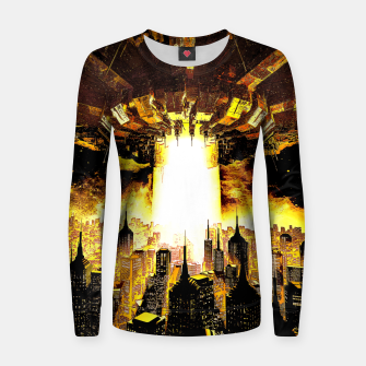 Thumbnail image of Welcome To The Apocalypse Women sweater, Live Heroes