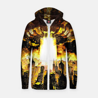 Thumbnail image of Welcome To The Apocalypse Zip up hoodie, Live Heroes