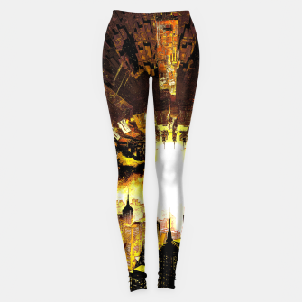Thumbnail image of Welcome To The Apocalypse Leggings, Live Heroes