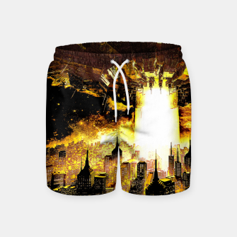 Thumbnail image of Welcome To The Apocalypse Swim Shorts, Live Heroes
