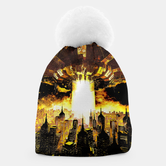 Thumbnail image of Welcome To The Apocalypse Beanie, Live Heroes