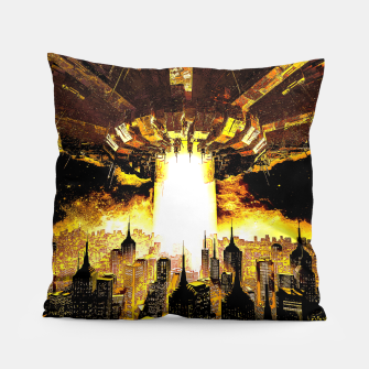 Thumbnail image of Welcome To The Apocalypse Pillow, Live Heroes
