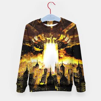 Thumbnail image of Welcome To The Apocalypse Kid's sweater, Live Heroes