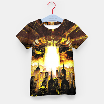 Thumbnail image of Welcome To The Apocalypse Kid's t-shirt, Live Heroes