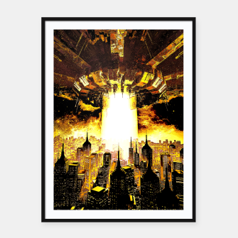 Thumbnail image of Welcome To The Apocalypse Framed poster, Live Heroes