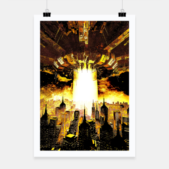 Thumbnail image of Welcome To The Apocalypse Poster, Live Heroes