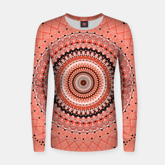 Thumbnail image of Living Coral Spiral  Women sweater, Live Heroes