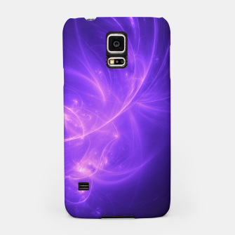 Thumbnail image of Purple Twilight Abstract Fractal Art Design Samsung Case, Live Heroes