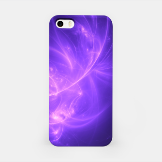 Thumbnail image of Purple Twilight Abstract Fractal Art Design iPhone Case, Live Heroes
