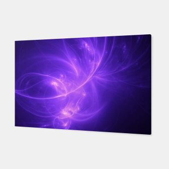 Thumbnail image of Purple Twilight Abstract Fractal Art Design Canvas, Live Heroes