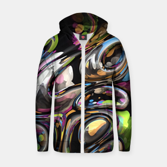 Thumbnail image of 3D Twist 06 Zip up hoodie, Live Heroes
