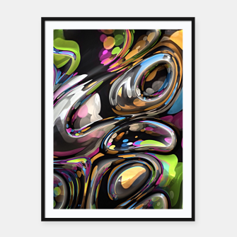 Thumbnail image of 3D Twist 06 Framed poster, Live Heroes