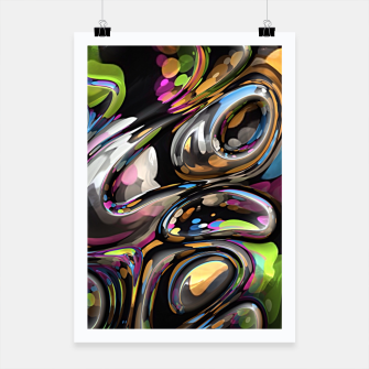 Thumbnail image of 3D Twist 06 Poster, Live Heroes