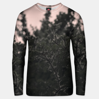 Miniatur Snow on branches Unisex sweater, Live Heroes