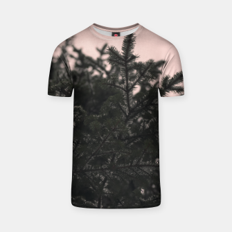 Miniatur Snow on branches T-shirt, Live Heroes