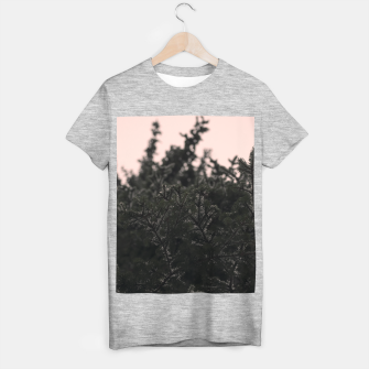 Miniatur Snow on branches T-shirt regular, Live Heroes