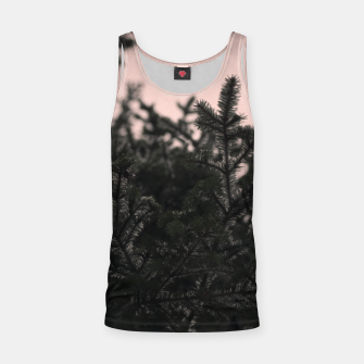 Miniatur Snow on branches Tank Top, Live Heroes