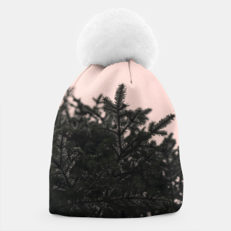 Miniatur Snow on branches Beanie, Live Heroes