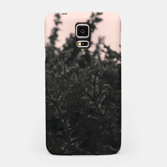 Miniatur Snow on branches Samsung Case, Live Heroes