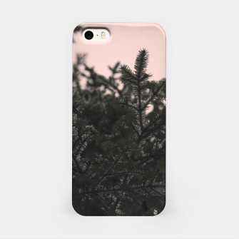 Miniatur Snow on branches iPhone Case, Live Heroes
