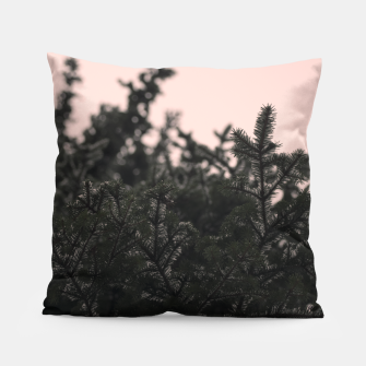 Miniatur Snow on branches Pillow, Live Heroes