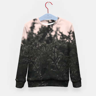 Miniatur Snow on branches Kid's sweater, Live Heroes
