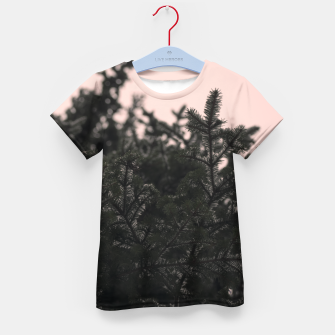 Miniatur Snow on branches Kid's t-shirt, Live Heroes