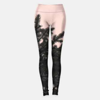 Miniatur Snow on branches Leggings, Live Heroes