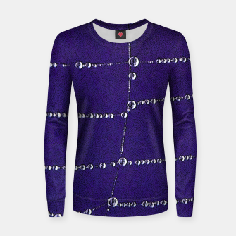 Thumbnail image of Pearls on a string Women sweater, Live Heroes