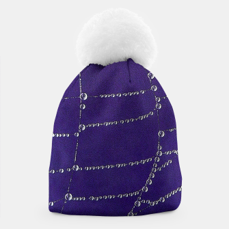 Thumbnail image of Pearls on a string Beanie, Live Heroes