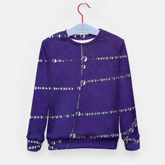 Thumbnail image of Pearls on a string Kid's sweater, Live Heroes
