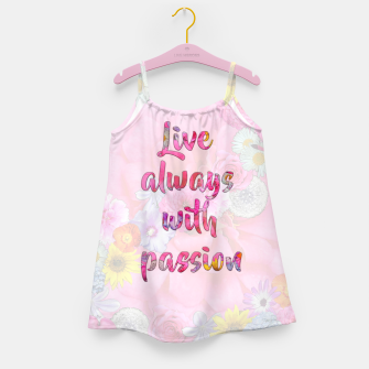 Thumbnail image of Live always with passion!  Girl's dress, Live Heroes