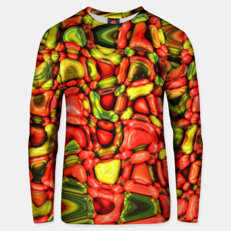 Thumbnail image of cheeky vegetables Unisex sweater, Live Heroes