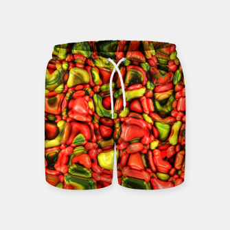 Thumbnail image of cheeky vegetables Swim Shorts, Live Heroes