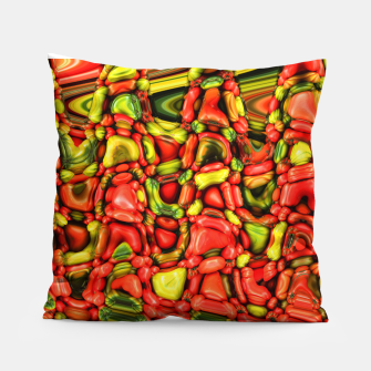 Miniatur cheeky vegetables Pillow, Live Heroes