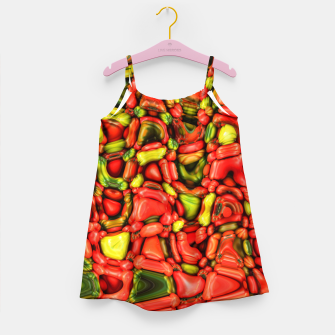 Thumbnail image of cheeky vegetables Girl's dress, Live Heroes