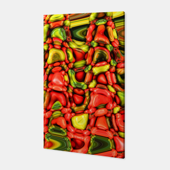 Miniatur cheeky vegetables Canvas, Live Heroes