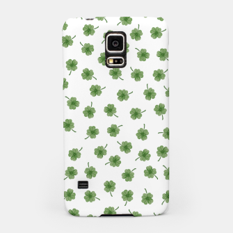 Thumbnail image of Light Green Clover Samsung Case, Live Heroes