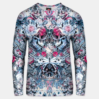 Thumbnail image of Twin Skull Unisex sweater, Live Heroes